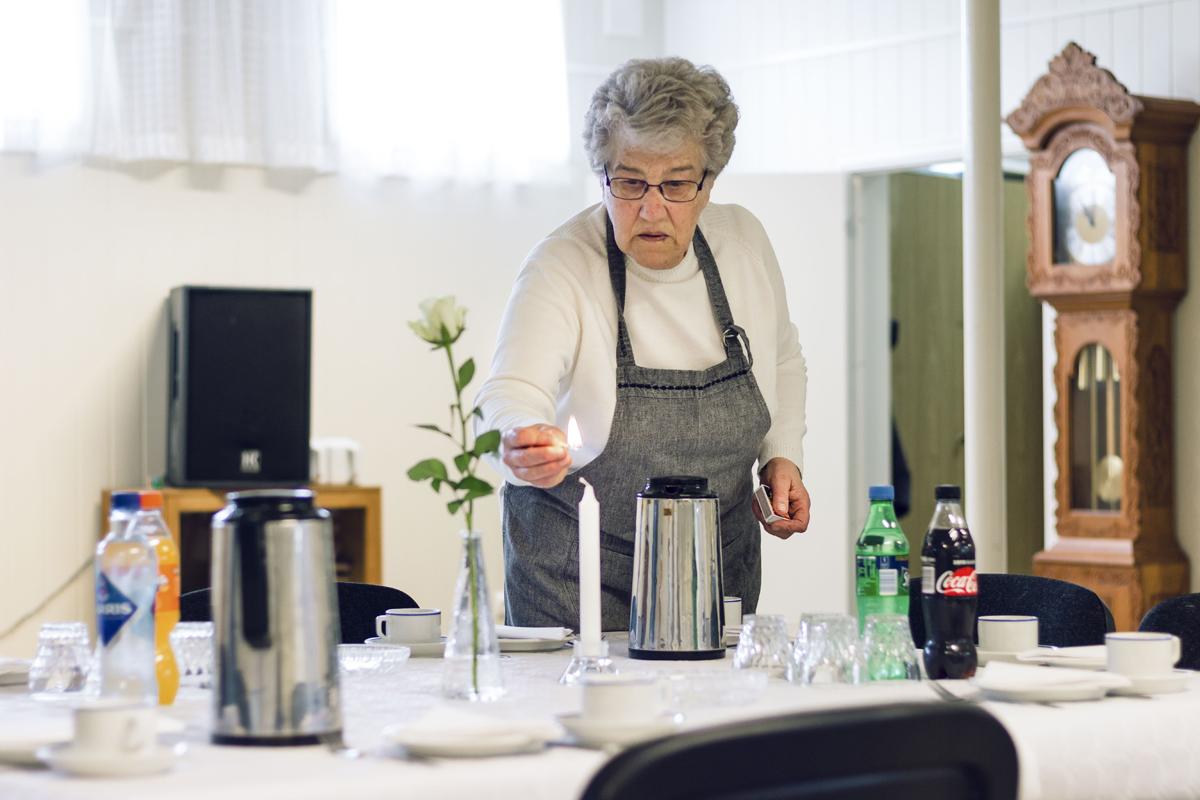 Arna Vidringstad, Minnemøte på Å bedehus EH_9479-kopi